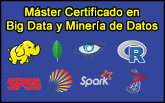 Máster Certificado en Big Data y Minería de Datos